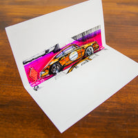 911 ST - Pop Up Card - Artists Edition