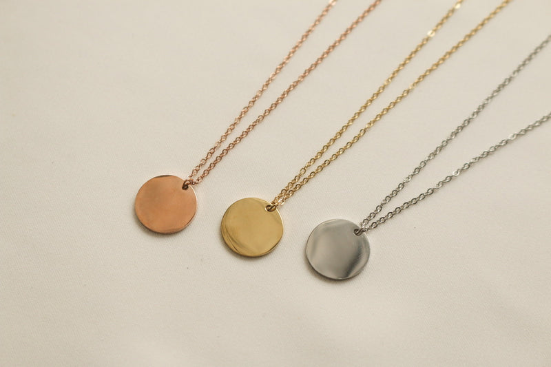 Dakota Necklace (Rose Gold)