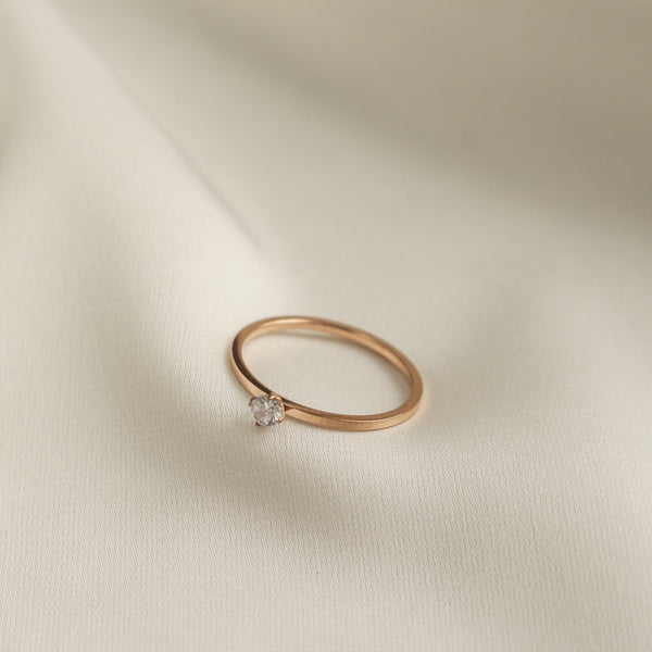 Angelina Ring (Rose Gold)