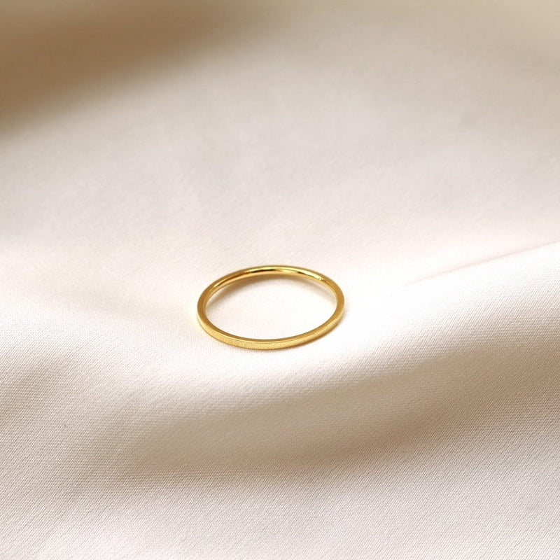 Minimalist Basic Ring (Gold)