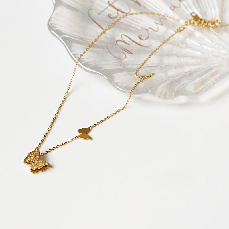 Khloe Butterfly Necklace - Plenty Collection
