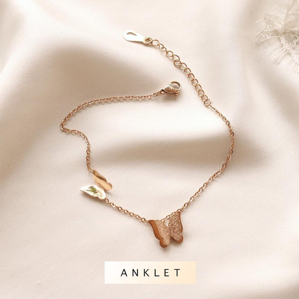 Journee Butterfly Anklet - Plenty Collection