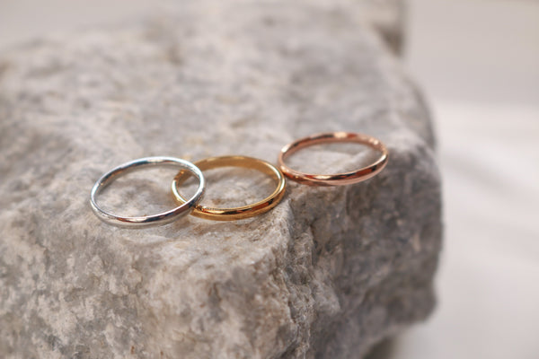 Basic Ring (Rose Gold) - Plenty Collection