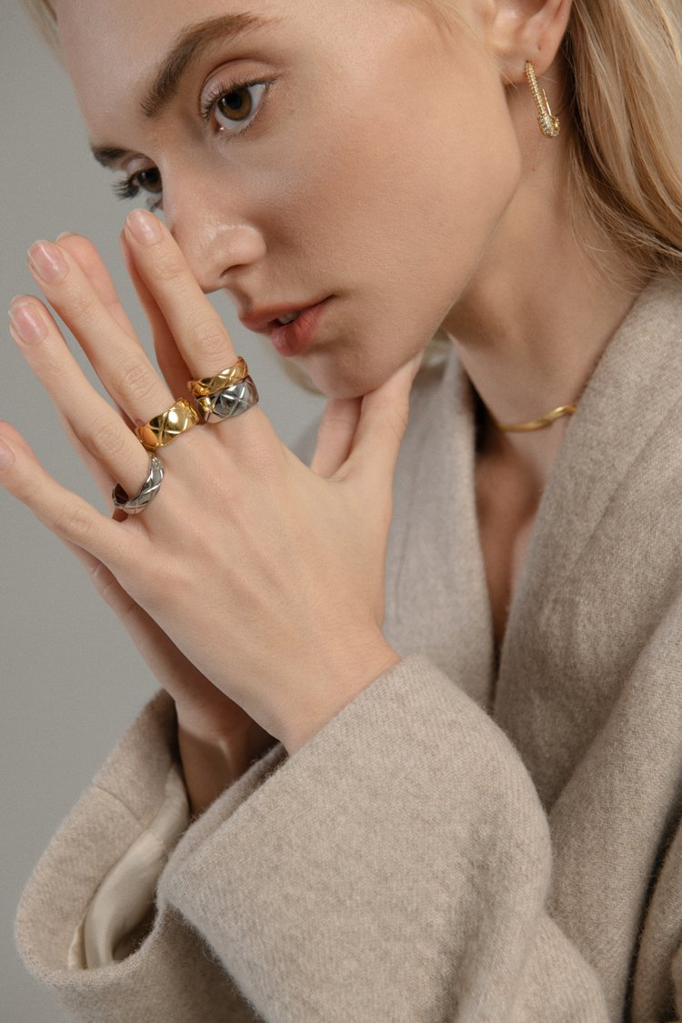 Everleigh Ring (Gold) - Plenty Collection