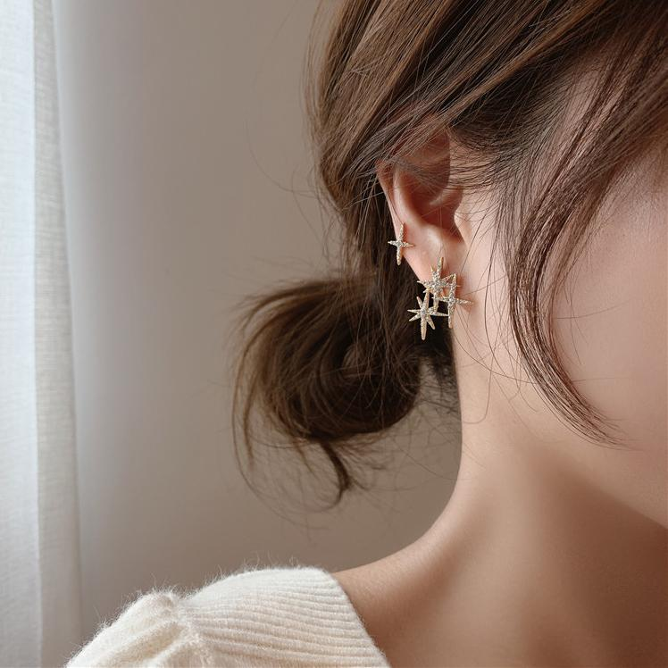 Edusa Star Earrings