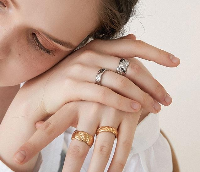 Brooke Ring (Silver) - Plenty Collection
