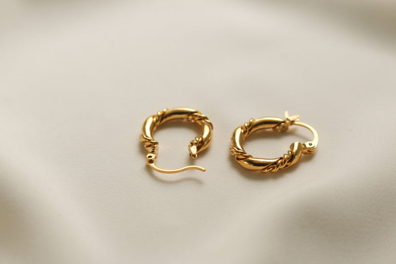 Rosalie Hoop Earrings