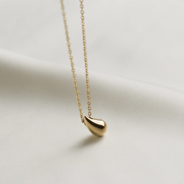 Spring Waterdrop Necklace (Gold)