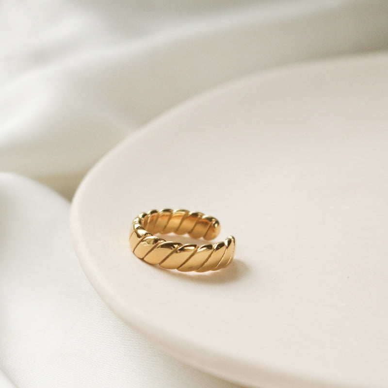 Braided Puff Ring