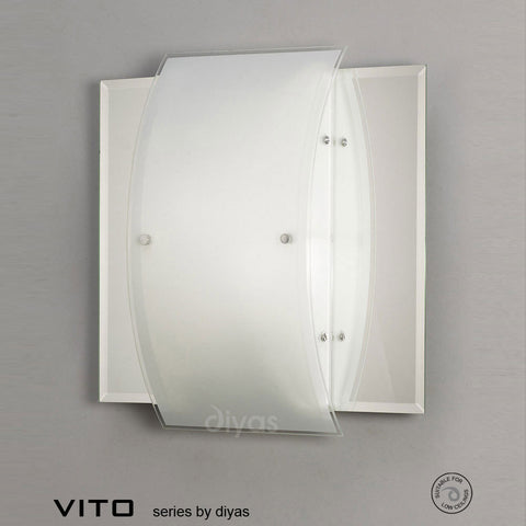 Diyas Vito Flus Wall and Ceiling Lamp - Stello Light Studio