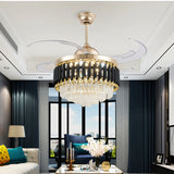 OSCURO CHANDELIER FAN - Stello Light Studio