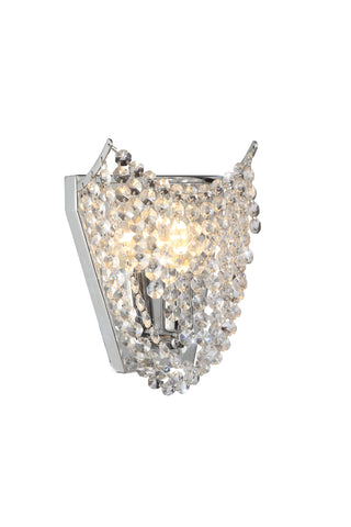 DELTA Chrome Wall Light