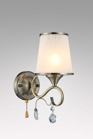KIANA Antique Brass Wall Light