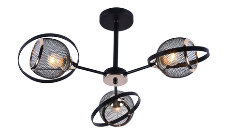DUB Modern Ceiling- 3 Lights - Stello Light Studio