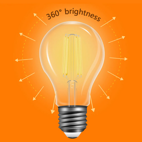 Stello Filament LED Bulb ( E27 BASE/4 Watt )