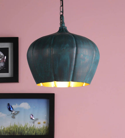 Acorn Gold Metal Hanging Light - Stello Light Studio