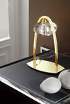 ALFA TABLE LAMP 1 LIGHT FRENCH GOLD - Stello Light Studio
