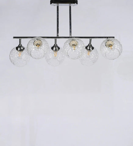 CHIARO Chrome Ceiling Light - 6 Lights