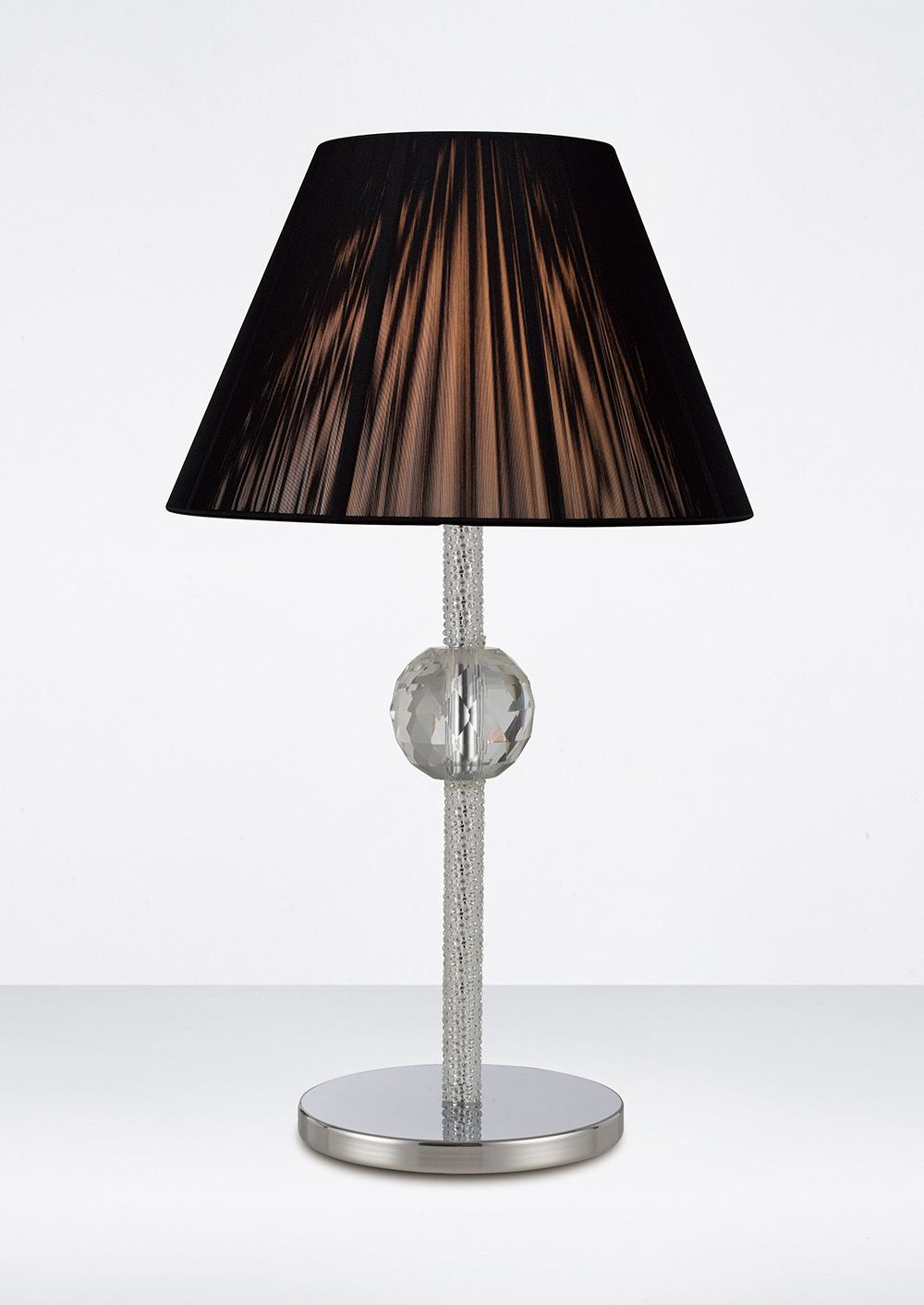 Diyas Elena Crystal Table Lamp