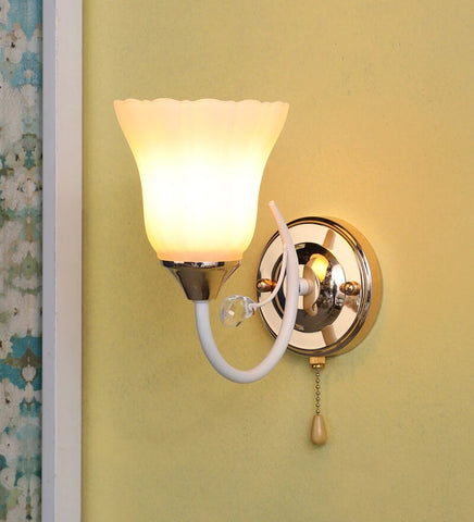 JANDIL Wall Light With Wire Pulling Switch - Stello Light Studio