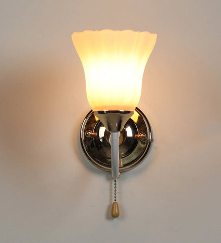 JANDIL Wall Light With Wire Pulling Switch