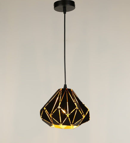 Meto Black Metal Hanging Light