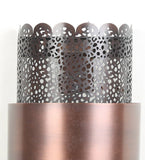 Mullan Antique Copper Metal Wall Light - Stello Light Studio