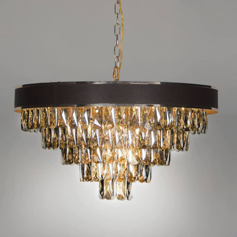 Noire Ceinture Chandelier - Stello Light Studio