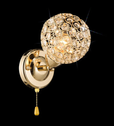 RIBIA Gold Wall Light