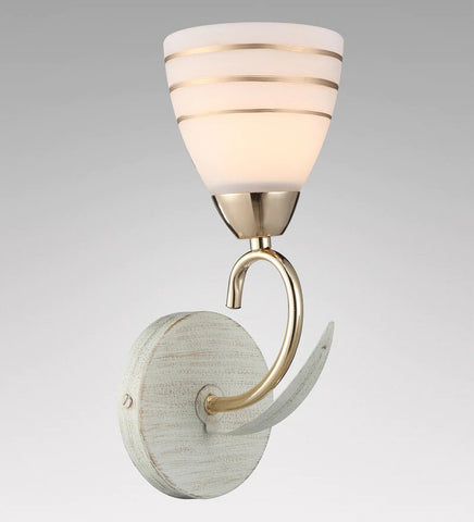 FLOOP Beige Gold Wall Light