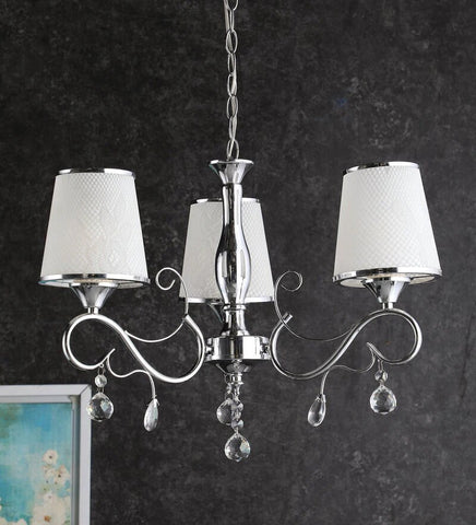 KIANA Chrome Chandelier - 3 Lights