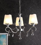 KIANA Chrome Chandelier - 3 Lights - Stello Light Studio