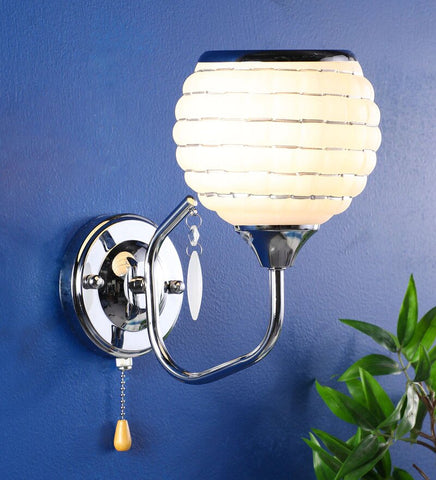 SEEDLE Chrome Wall Light