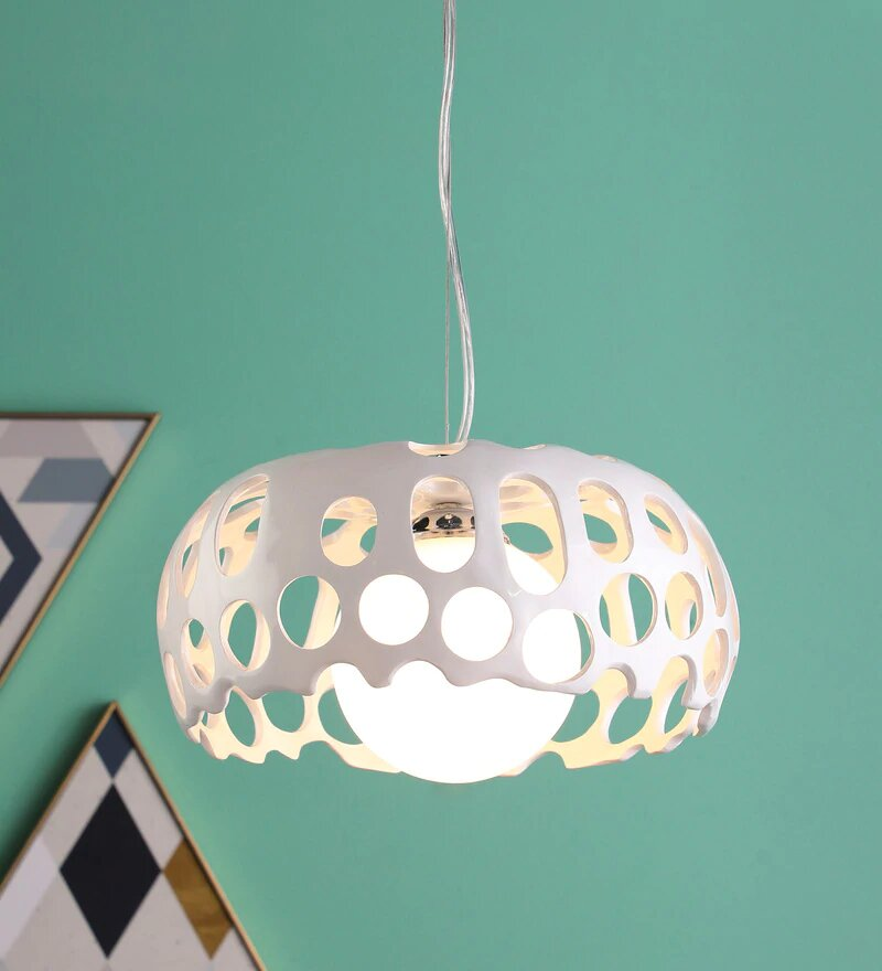 DELLAS White Pendant Light