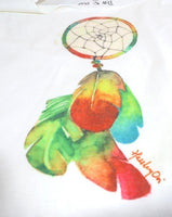 Lady Short Sleeve T-shirt dream-catcher tops