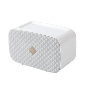 Double Layer Tissue Box Wall Mounted