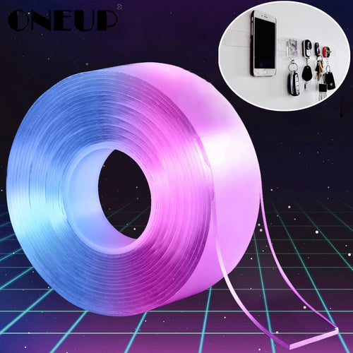 Multifunctional Double-Sided Adhesive Nano Tape