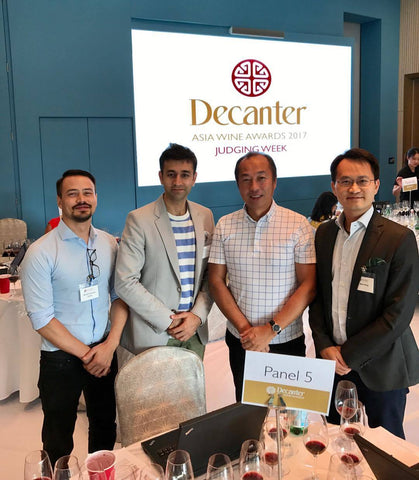 Boon at Decanter Asia Wine Awards