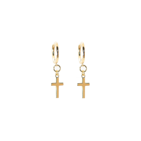 Fancy Pants Diamond Bar Rose Gold Studs