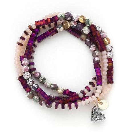 Lila Babe Agate - Purple Passion