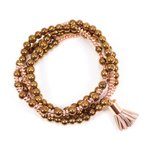 Lila Babe Agate - Rosy Posy