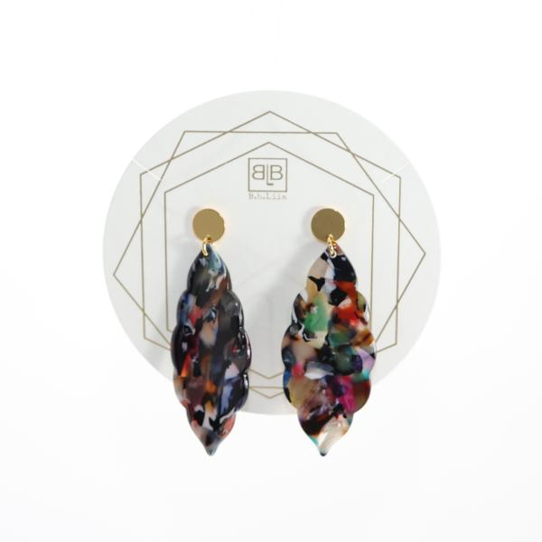 Lola Earrings - Multi Solid