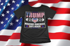 Donald Trump T-Shirt US Presidential Election 2020 Vote Usa Flag Shirt