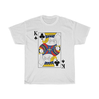 Playing Card Deck Halloween Costume Cosplay T-Shirts, Group Costume Poker Cards, Playing Cards White T-Shirts, Casino Deck of Cards Shirts