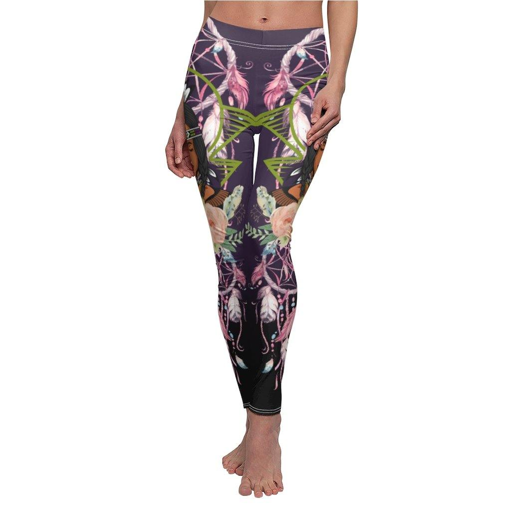 Native American Warrior Leggings
