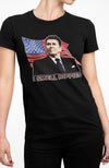 I Smell Hippies | Funny Ronald Reagan Conservative Merica USA Unisex T-Shirt