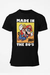 Men's Nintendo Raccoon Mario Made in The 80's T-Shirt