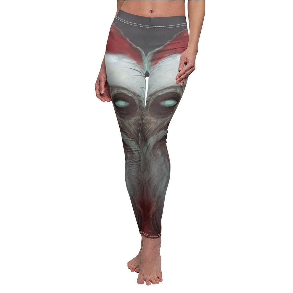 ZOMBIE SANTA LEGGINGS