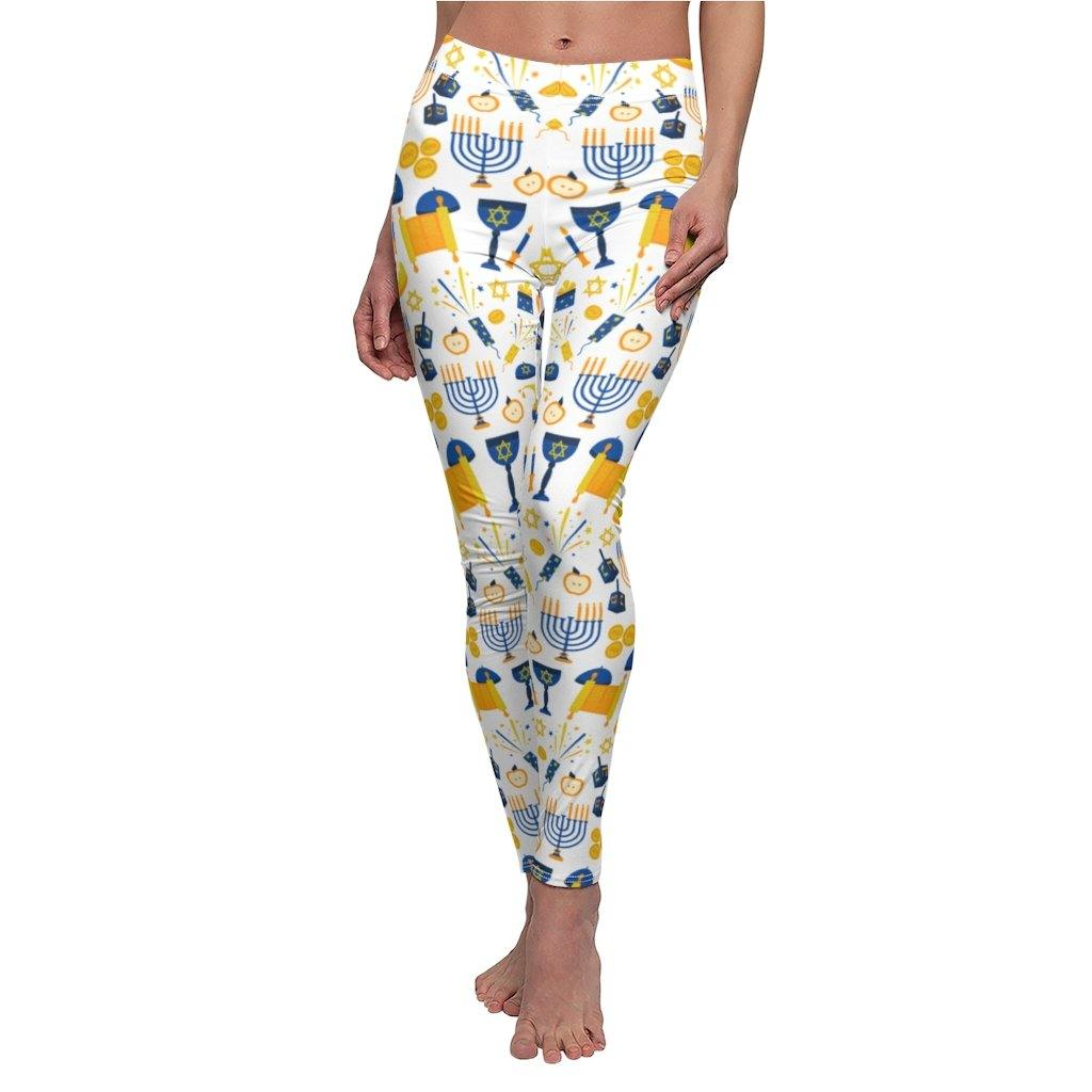 HANUKKAH SYMBOL YOGA LEGGINGS