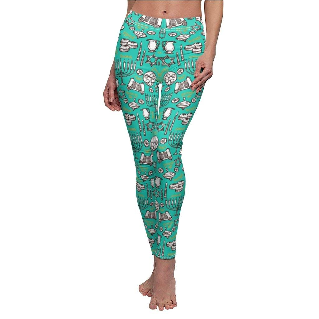 HANUKKAH JOY YOGA LEGGINGS